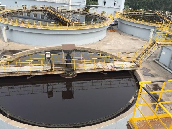 某电子厂污水除重金属案例