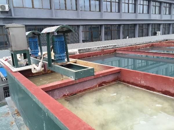 广东某电子厂污水除磷案例
