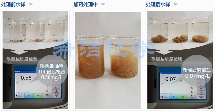 除磷实验对比